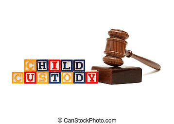 Child Custody - A group of isolated objects in regards to ...