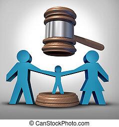 Child Custody Battle - Child custody battle as a family law...