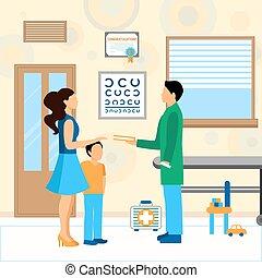 Child Doctor Pediatrician Illustration