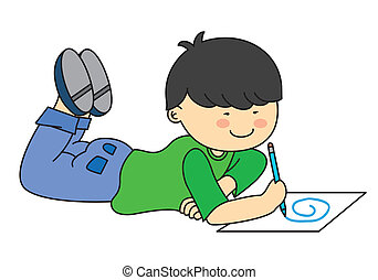 child drawing illustrations and clipart 167 733 child drawing