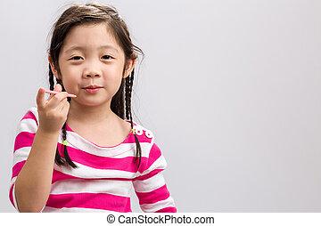 Child Eating Snack