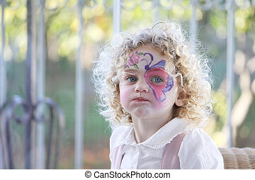 child expressive portrait