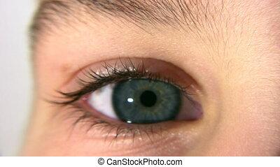 child eye - Child eye