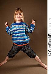 child fashion sweater