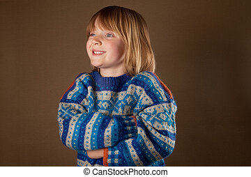child fashion sweater