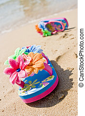 Child Flip Flops - with clipping path