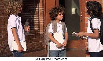 Child Friends Kids At School