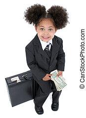Child Girl Business