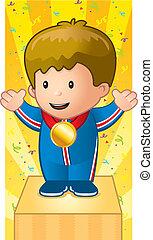 Child Gold Medal