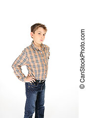 Child hands on hips
