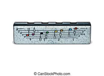 child harp (harmonica) - child plastic harp (harmonica)...