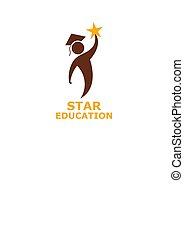child hold star