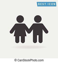 Child Icon, vector icon eps10.