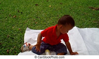 Child in A Park