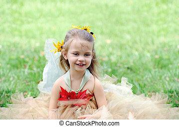 Child in Fairy Costume