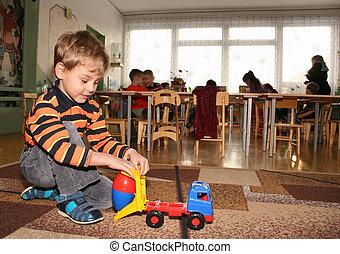 child in kindergarten 2