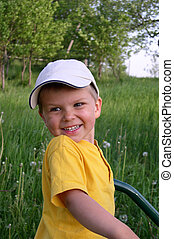 Child in Nature - A child in nature