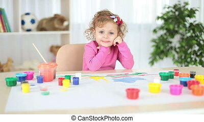 Child in the nursery. - Childhood