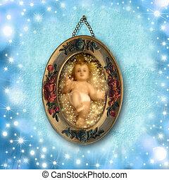 Child Jesus Christmas Cards