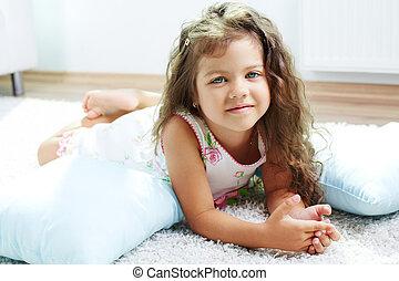 Child on the floor