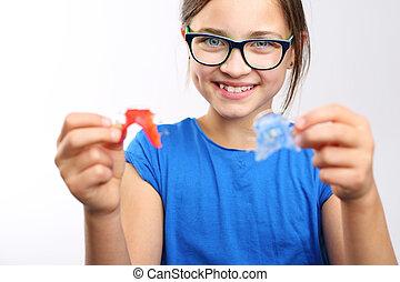 Child orthodontist.
