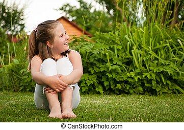 Child portrait - looking away