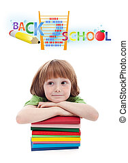 Child preparing for elementary school