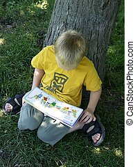 child reading #2