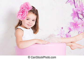 Child relaxing