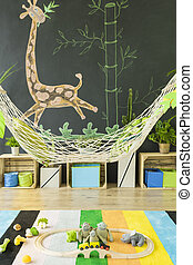 Child room with diy decoration