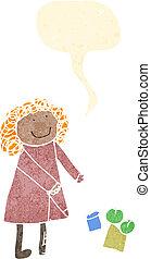 child', rysunek, od, niejaki, kobieta