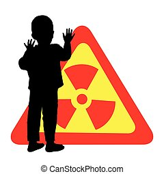 Child safety is a chemical hazard sign