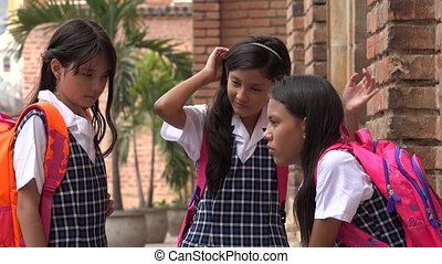 Child Students At School