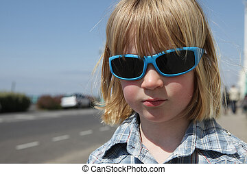 child sunglasses vacation