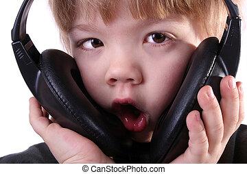 Child whistling