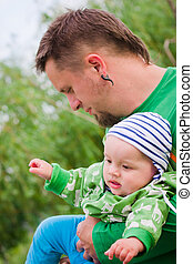 Child wiht father