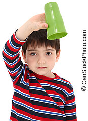 Child with Empty Cup