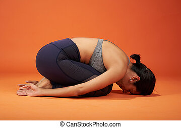 Child yoga asana