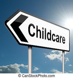 childcare, concept.