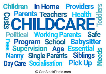Childcare Word Cloud