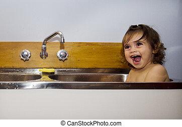 Childhood - Bathing