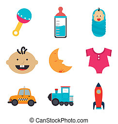 Childhood design - childhood design over white background...