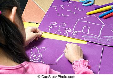 Childhood drawing