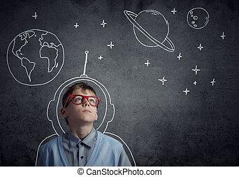 Childhood Dreams of future