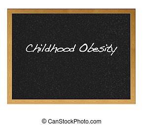 Childhood obesity.