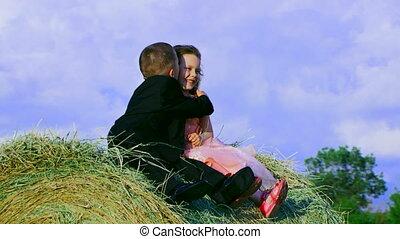 Childhood romance