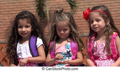 Children Adorable Girls