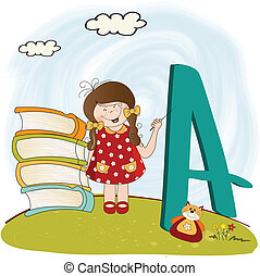 children alphabet letters