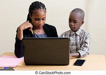 Children and information technology.