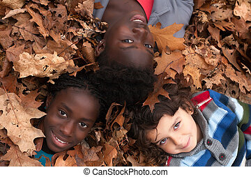 Children and leafs
